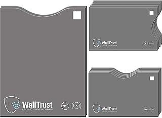 comprar comparacion WallTrust® Protectoras de Tarjetas RFID NFC | Protección * Aprobado TÜV Alemán * | 12 Fundas para Tarjeta de Crédito Débit...