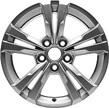 Partsynergy Car Wheel For New Aluminum Alloy Wheel Rim 17 Inch Fits 2010-2017 Chevy Equinox 5-120mm 10 Spokes