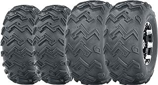 Set of 4 WANDA ATV UTV Tires 22x8-10 Front & 24x11-10 Rear 6PR