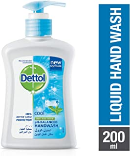 Dettol Cool Anti-Bacterial Liquid Hand Wash 200ml