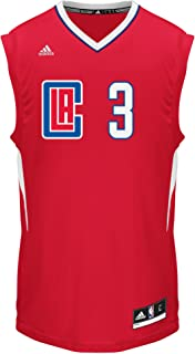 NBA Men's Los Angeles Clippers Chris Paul Replica Player Road Jersey, 2X-Large, Red