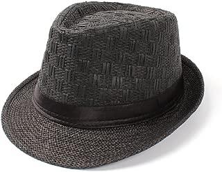 LiWen Zheng Straw Women Men Summer Travel Boater Beach Fedora sun hat For Gentleman Elegant Lady