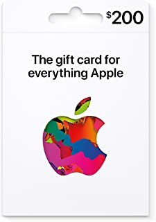 Apple Gift Card - Products, accessories, apps, games, music, movies and more