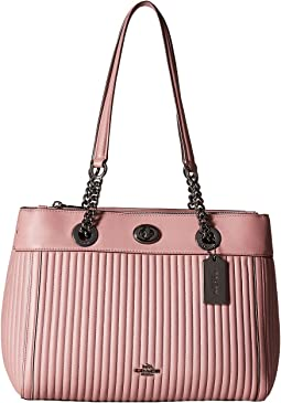 COACH - Turnlock Edie Carryall in Quilted Leather
