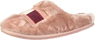 Tommy Hilfiger Tommy Womens Fur Slipper, Women Slippers