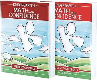 Kindergarten Math With Confidence Bundle: Instructor Guide & Student Workbook