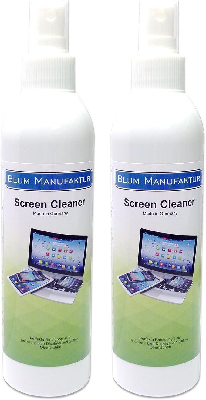 91 opiniones para Blum- 2X 250ml Limpiador de Pantalla. Limpieza Todas Las Pantallas y displays.
