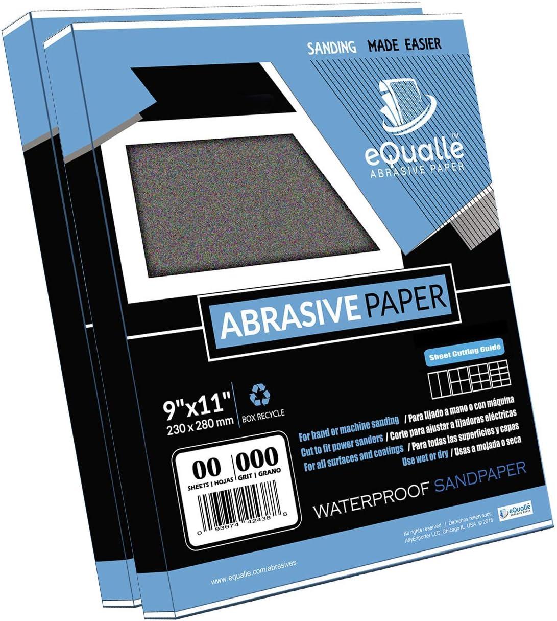 Bundle - 2 items. Sandpaper 280 Grit 1 year warranty Many popular brands 100 120 Sheets