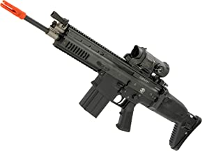 Evike FN Herstal Licensed Full Metal Scar-H Airsoft AEG Rifle by WE-Tech (Color: Black/Carbine)