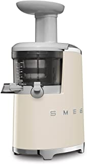 Smeg 146877 Presse-Agrumes à Basse Vitesse SJF01CREU, crème