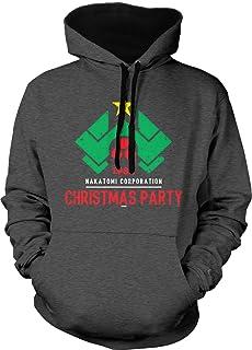1988 Christmas Party Nakatomi Adult Two Tone Hoodie Sweatshirt