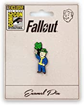 Fallout Luck S.P.E.C.I.A.L. Perk Pin | Exclusive Fallout Video Game Series Collectible | Small Metal Enamel Pin Blue
