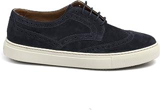 Fratelli Rossetti Sneakers Hobo Sport Blu in Suede - 45815 York Marine - Taglia