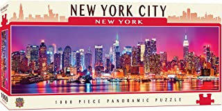 MasterPieces Cityscapes Panoramic Jigsaw Puzzle, Downtown New York City, Dr. Toy's 100 Best Winner, 1000 Pieces