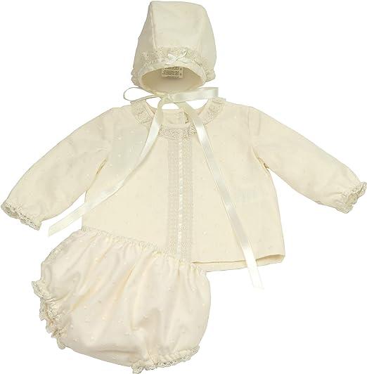 Conjunto Azalea Camisa Cubre-Pañal y Capota (Solo 6 Meses ...