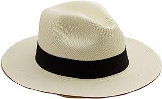 Tumia - Sombrero de Panama Tradicional, Plegable y Hecho a Mano en Ecuador – tamaño 57