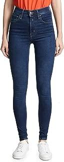 Levi's Women's Mile High Super Skinny Jeans, Jet Setter, Blue, 25