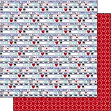 Certified Nursing Assistant CNA Images (38657) 12 Inch x 12 Inch Double-Sided Scrapbook Paper - 1 Sheet
