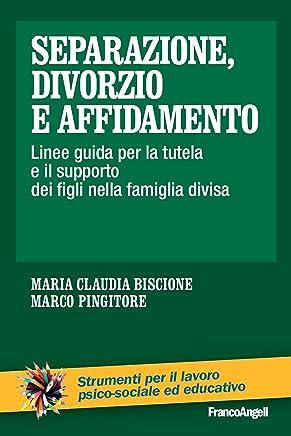 Separazione, divorzio e affidamento. Linee guida per la tutela e il supporto dei figli nella famiglia divisa (Strum. lavoro psico-sociale e educativo Vol. 181)