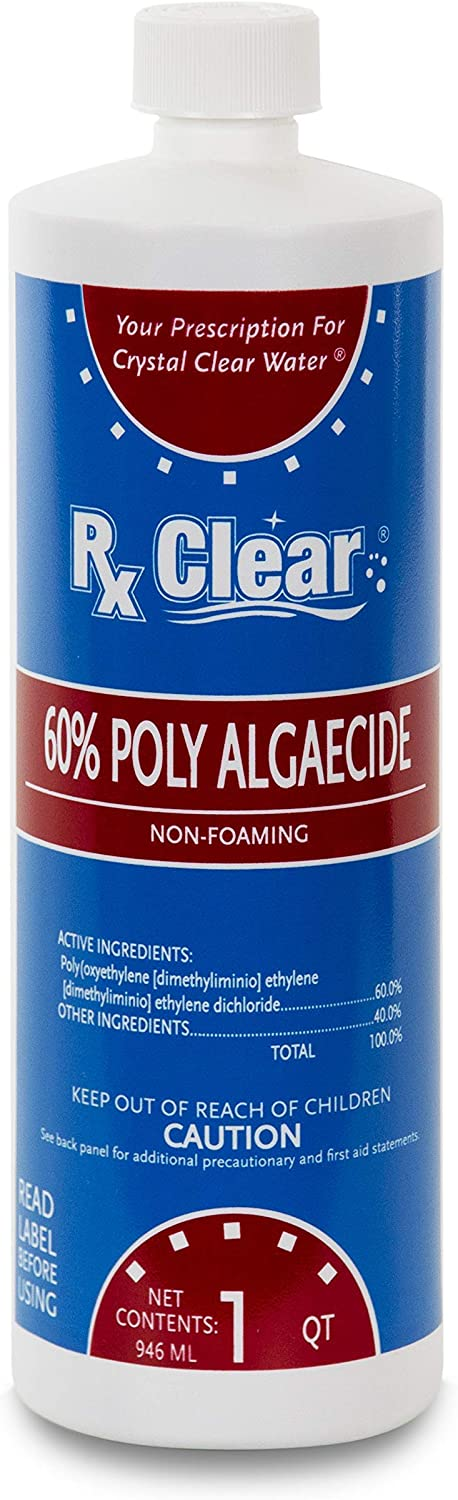 Rx Clear Algaecide Kansas High quality City Mall 60 Plus Non-Foaming Or for Above Formula In