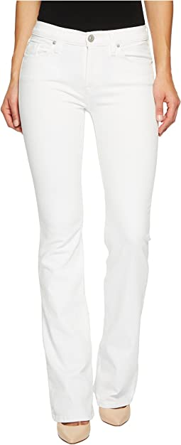 Drew Mid-Rise Bootcut in Optical White