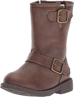 Carter's Kids Girl's Aqion3 Brown Riding Boot Fashion