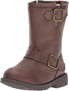 Carter's Kids Girl's Aqion3 Brown Riding Boot Fashion