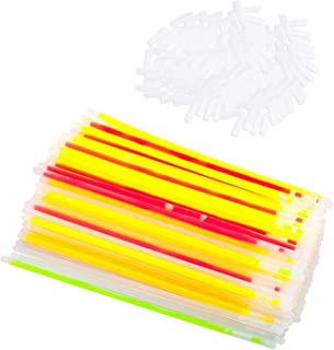 TRIXES Glow Sticks x 1 Party Glow Sticks and Connectors Bracelets Mixed Clubbercise Neon Glow in The Dark Pack