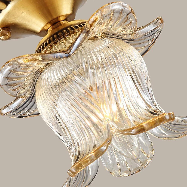 ACZZ Deckenleuchte Retro Vintage Antik Design Runde Glas Deckenlampe minimalistische Beleuchtung, 16 X 19 cm, Decke Wohnzimmer Lampe, Lampe, Esszimmerlampe, Lampe, Badezimmerlampe