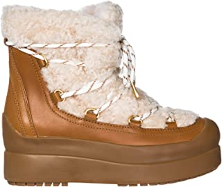 Women Ankle Boots Natural