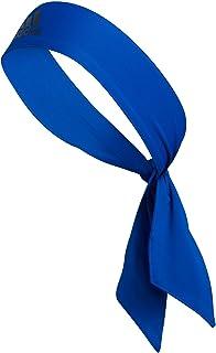 adidas, Alphaskin Tie Headband - Cinta del Pelo Unisex Adulto