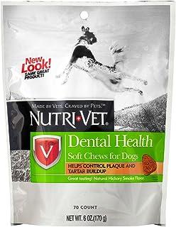 Nutri-Vet Dental Health Soft Chews for Dogs, 6 Ounce
