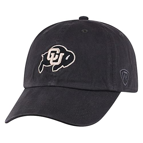 save off 31c14 bf613 Top of the World NCAA Men s Hat Adjustable Relaxed Fit Charcoal Icon