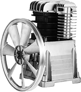Mophorn Air Compressor Pump 3KW Piston Type Air Compressor Head Pump Stroke Volume 11.8CFM 115PSI Cylinder Pump Head with Aluminum Construction