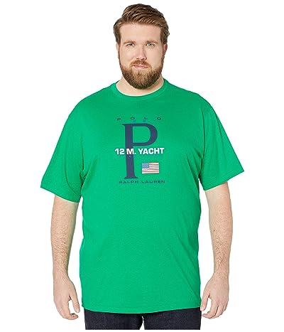 Polo Ralph Lauren Big & Tall Big Tall Short Sleeve T-Shirt (Chroma Green) Men