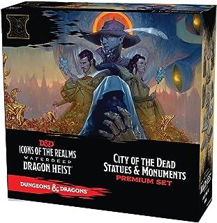 WizKids D&D Icons of The Realms: Waterdeep Dragon Heist City of The Dead Premium Set