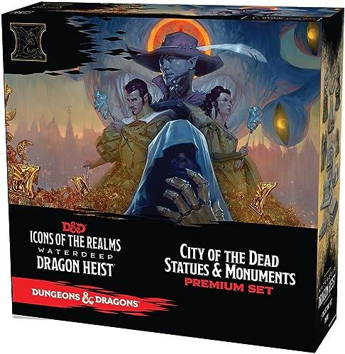 100% autentico WizKids D&D Icons of of of The Realms  Waterdeep Dragon Heist City of The Dead Set  venta al por mayor barato
