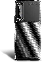 Olixar for Sony Xperia 1 II Carbon Fiber Case - Slim Cover TPU Non-Slip - Thin Protective Cover - Shockproof Bumper Drop P...