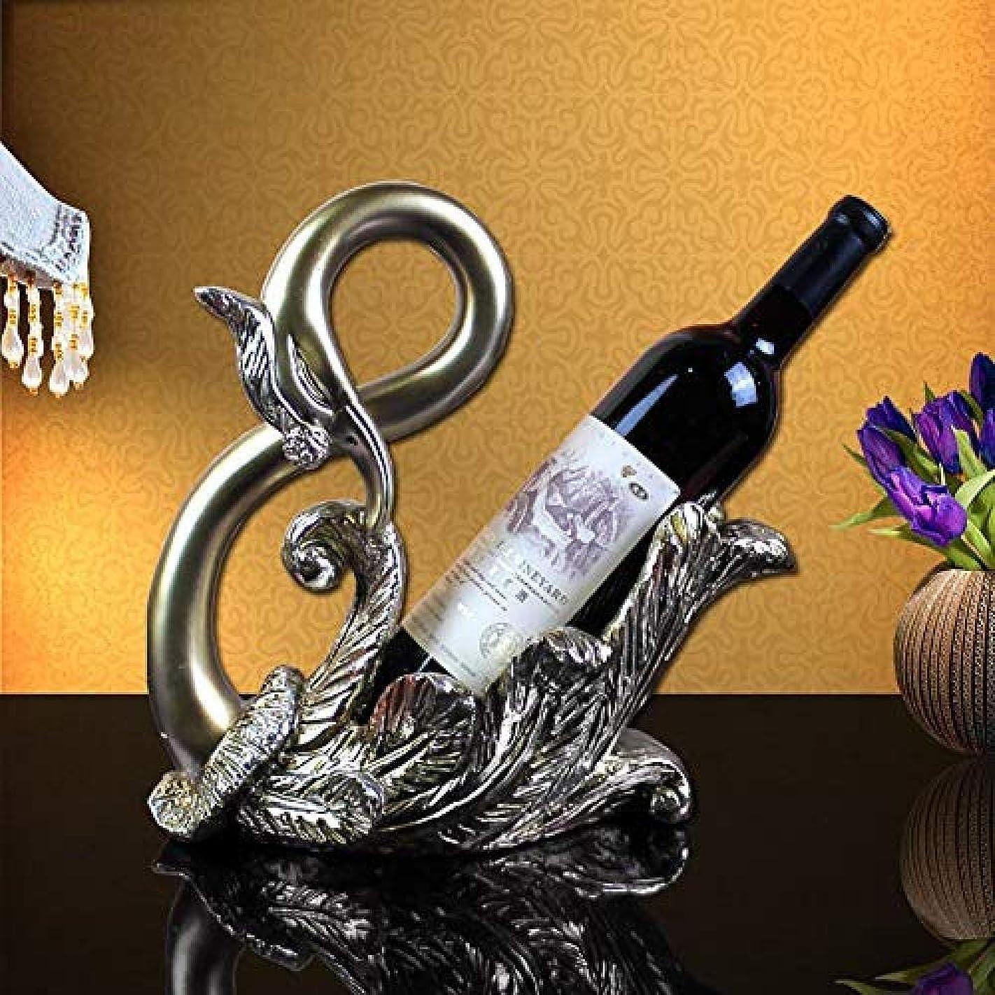 侵入お願いしますエレベーターCHUNSHENN ワイン収納 シャンパンホルダー 欧州の樹脂白鳥のワインラックのファッションのホームアクセサリーのワインキャビネットギフト屋内リビングデスクトップキッチン彫刻ディスプレイスタンドジュエリーアートクラフト 置物 実用的 工芸品