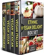Ethnic Vegan Delight Box Set: 4 Books in 1