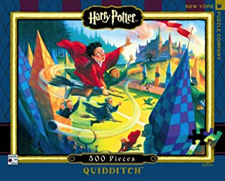 New York Puzzle Company - Harry Potter Quidditch 500 - 500 Piece Jigsaw Puzzle