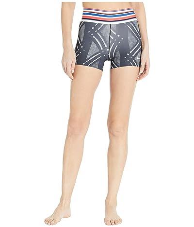 Nike Pro Shorts 3 Print (Black/White) Women
