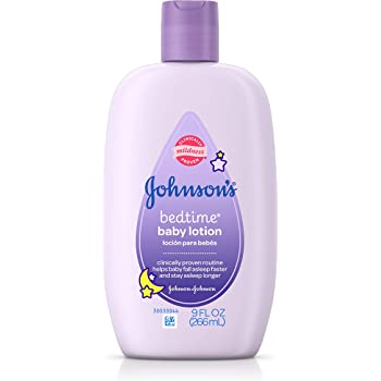Amazon Com Johnson S Baby Bedtime Lotion Lavender Chamomile 9 Oz Health Personal Care