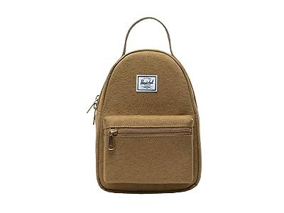 Herschel Supply Co. Nova Mini (Coyote Slub) Backpack Bags