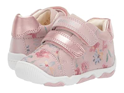 Geox Kids Newbalu Girl 19 (Infant/Toddler) (Light Rose) Girl