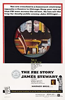 Posterazzi The FBI Story Us Art Center and Bottom Right: James Stewart 1959. Movie Masterprint Poster Print (24 x 36)