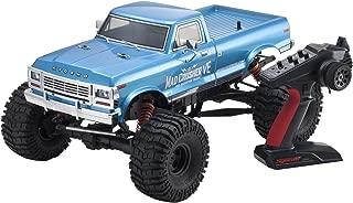Kyosho 4WD Brushless Powered RC Truck Vehicle, Blue