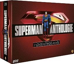 Superman Anthology - Animation Collection - 10-DVD Box Set ( Superman/Batman: Apocalypse & Public Enemies / Unbound / Superman vs. Elite / Last Son of Kr [ NON-USA FORMAT, PAL, Reg.2 Import - France ]