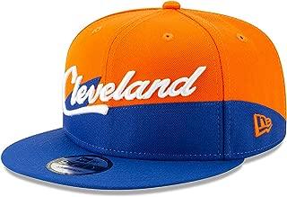 Cleveland Cavaliers 2018 City Edition Adjustable Snapback Hat Orange/Blue