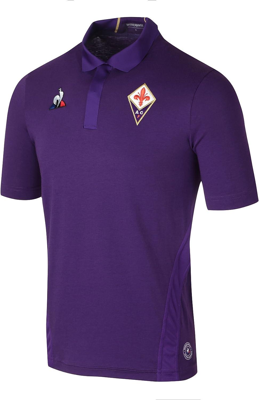 Le Coq Sportif 2018-2019 Fiorentina Home Football Soccer T-Shirt
